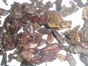 propolis à l'état naturel