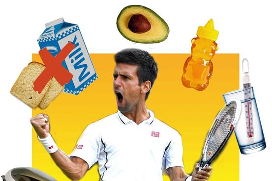 Djokovic et le miel