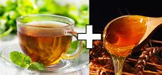 miel et thé