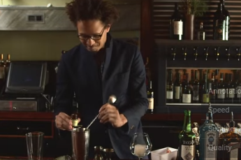 Préparation du cocktail avec gelée royale