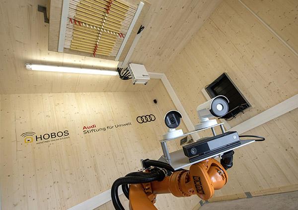 Le robot Audi pour étudier les abeilles